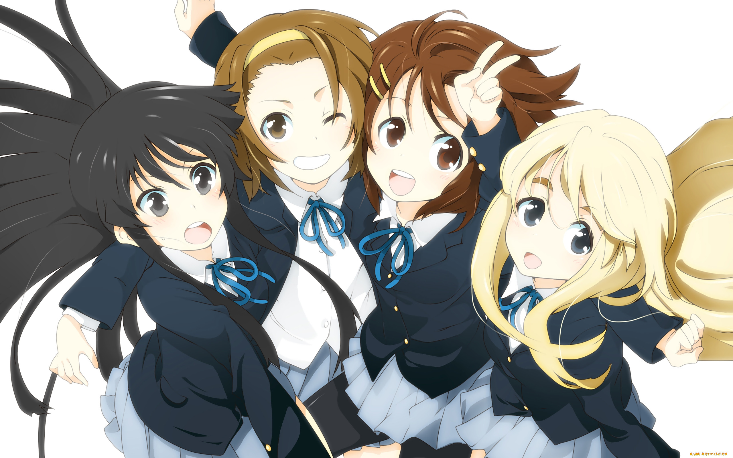 Картинки аниме девушек группы